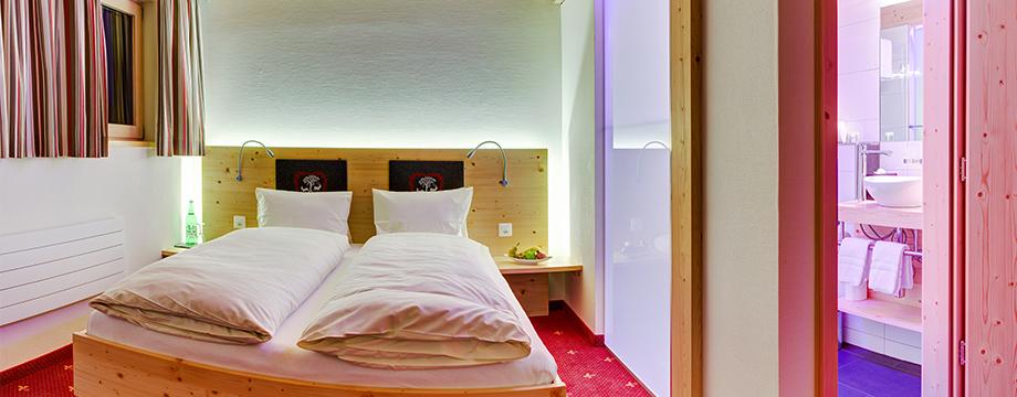 Doppelzimmer Grandlit Hotel Cristal-Flumserberg